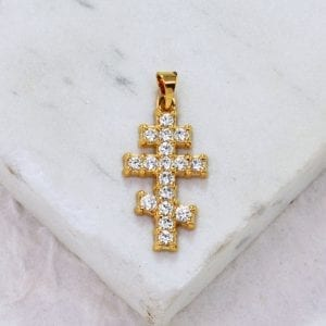Diamond St. Andrew Cross