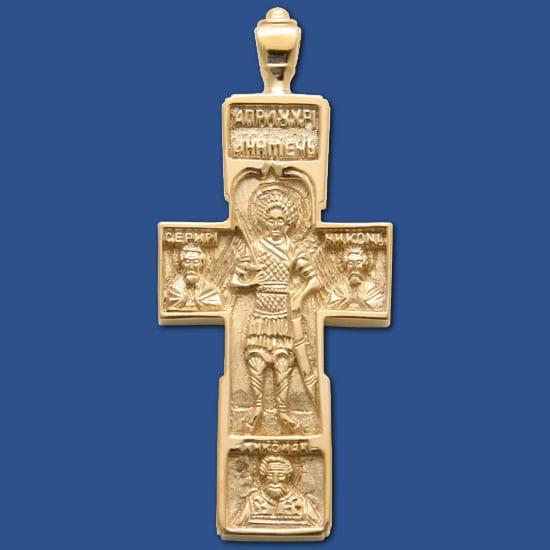 St Michael Cross Vermeil Gallery Byzantium