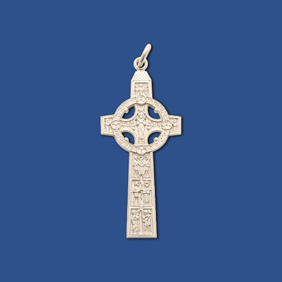 Celtic Scriptures bishop cross