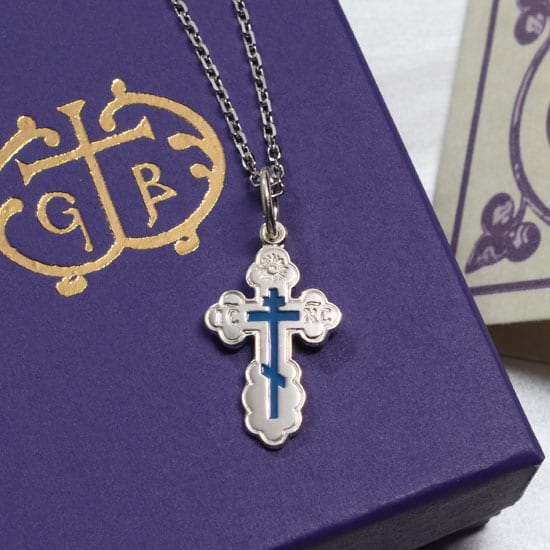 orthodox baptism cross