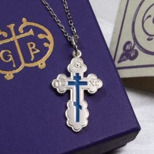 Orthodox cross jewelry