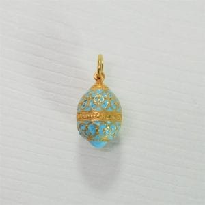 Russian enameled egg pendants archives gallery byzantium russian enameled egg pendant aloadofball Images