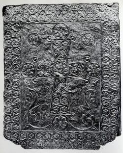 floral cross, byzantine cross, ancient design