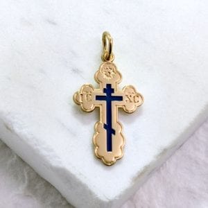 Eastern Orthodox 3 bar cross