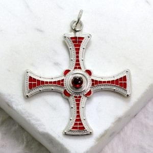 Northumbrian Cross design