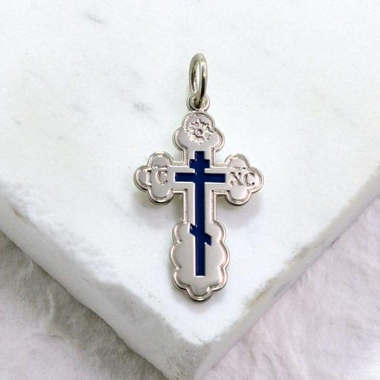 eastern orthodox cross pendant