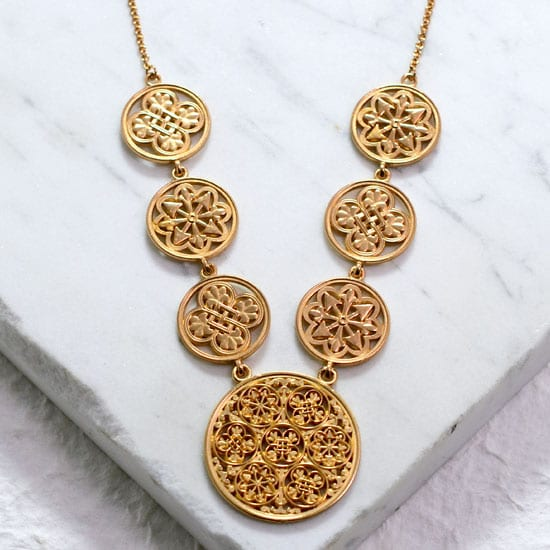 Gifts of Glory Necklace (18kt Vermeil)