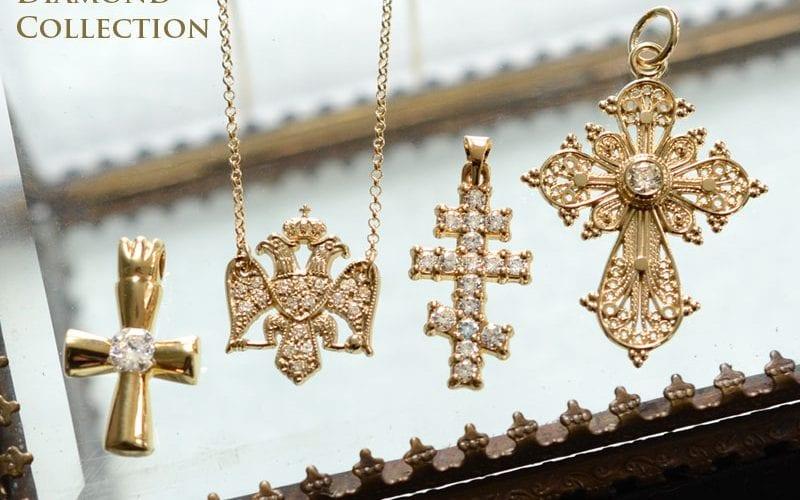 diamond crosses