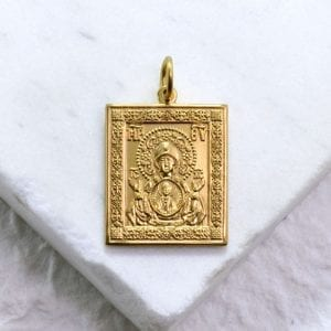 Kursk Root Icon Medallion