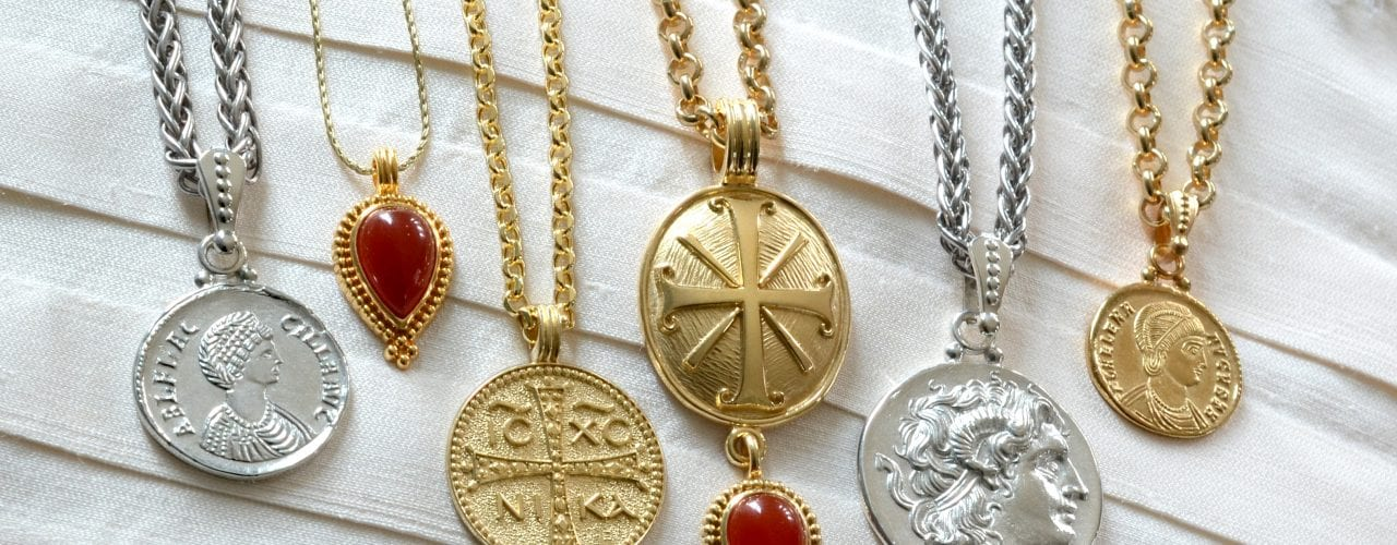 jewelry care, medallions, coin jewelry