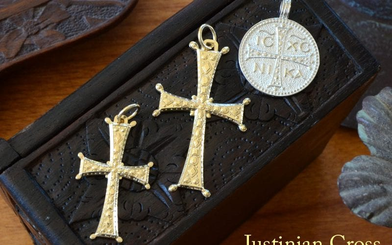 justinian, justinian cross, byzantine, history