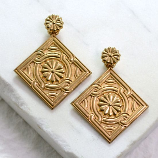 Byzantine earring set