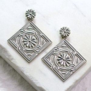 Divine Patterns earring set