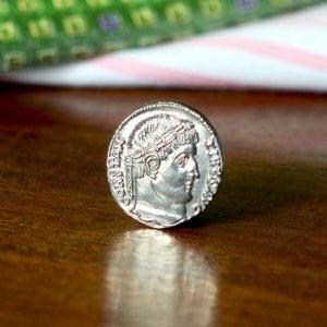 Byzantine coin jewelry