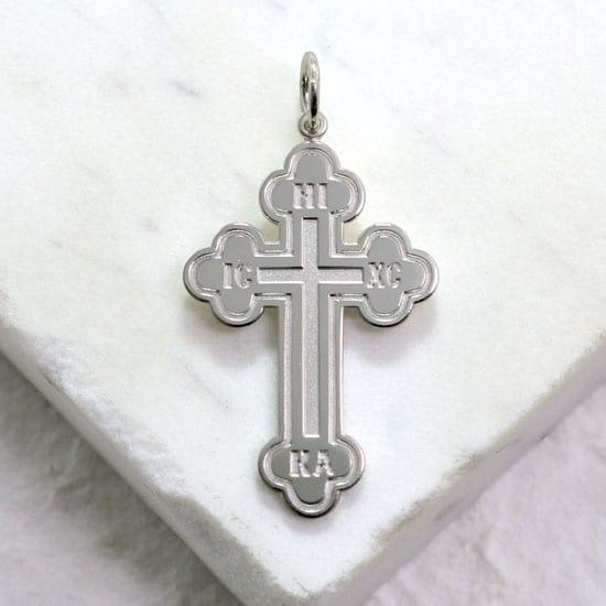 greek budded cross