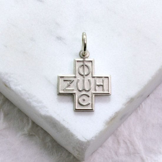 Phos Zoe Cross pendant