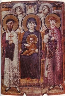 mount sinai, icon, fresco