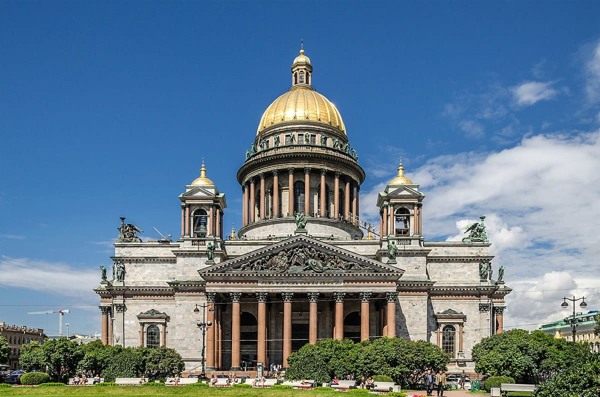 st isaac's cathedral, st. petersburg