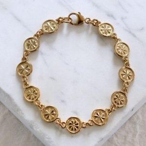 Byzantine Rose Bracelet