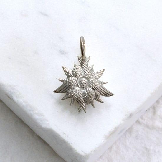 Angel Silver Pendant