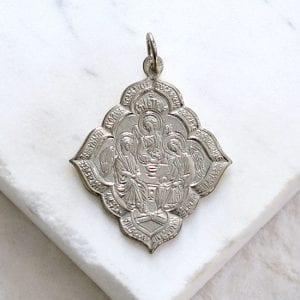 Holy Trinity Medallion