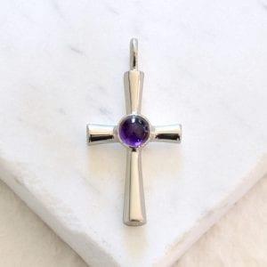 Amethyst St Sophia Cross