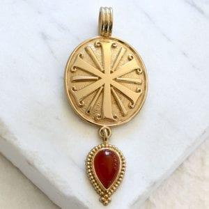 Iota Chi Medallion
