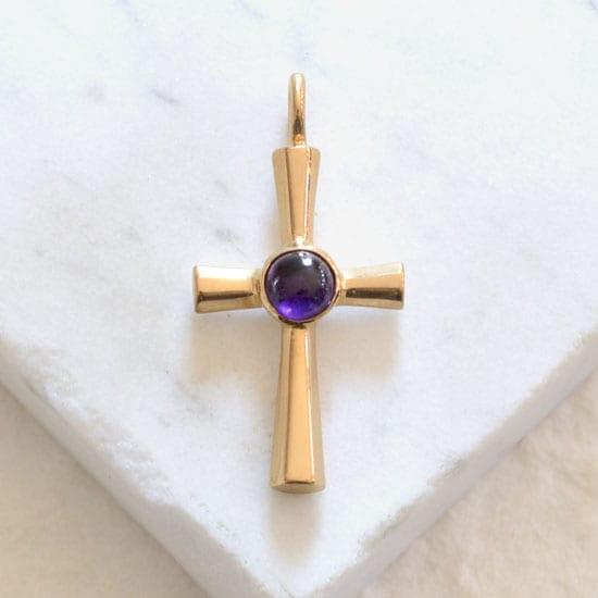 Byzantine Gold Christian Cross